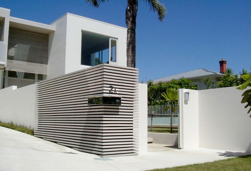 Contemporary garden feature wall google search