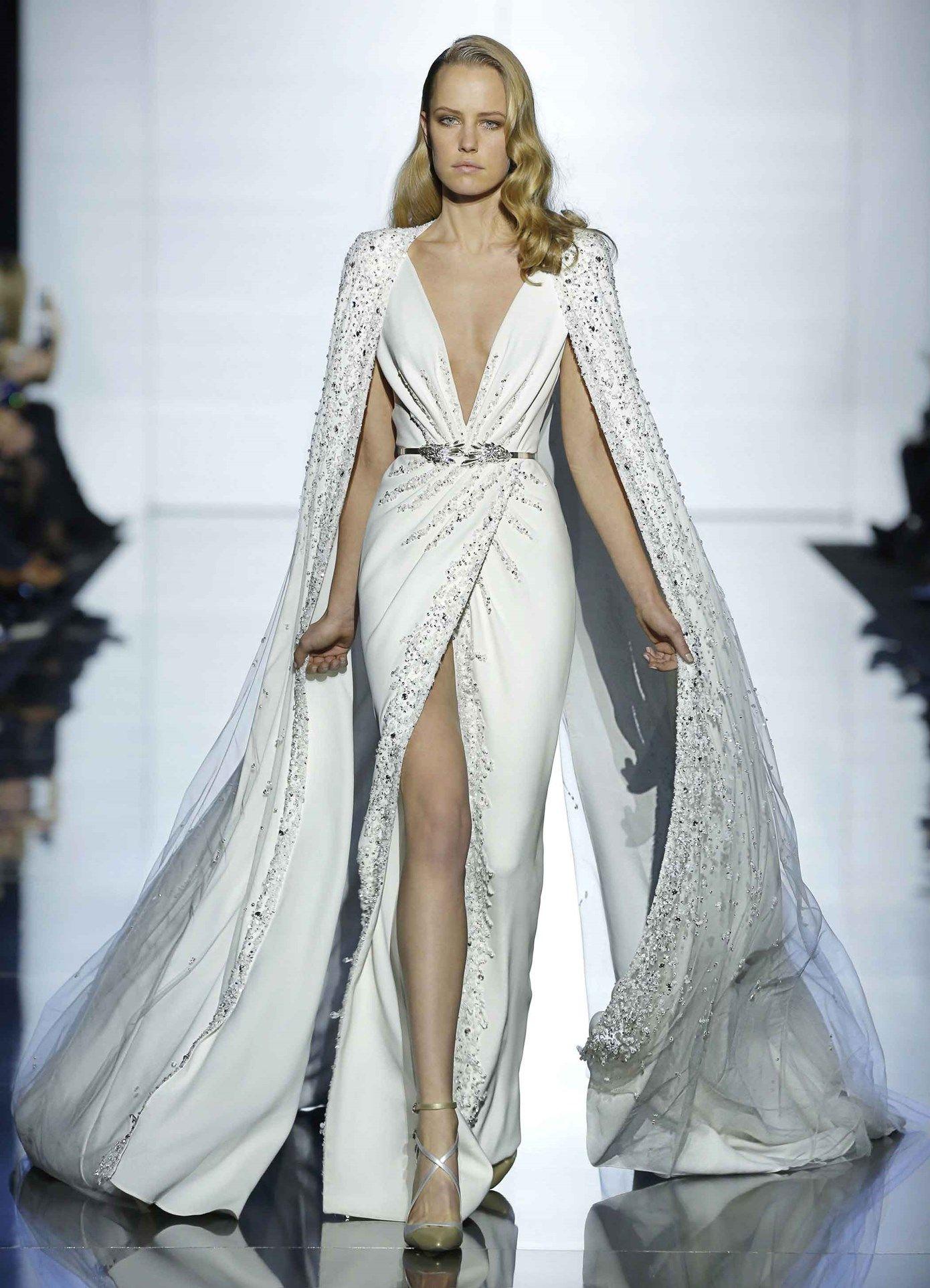 zuhair murad white dress haute couture pinterest kleider sch ne frauen. Black Bedroom Furniture Sets. Home Design Ideas
