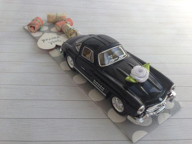Hochzeitsgeschenk Oldtimer Mercedes Benz 300 Sl Coupe In Farbe Schwarz Ich Biete Dir Ein Stilvolles Geldgeschenke Hochzeit Hochzeitgeldgeschenke Hochzeit Auto