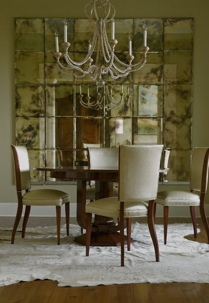 Opening Up Your Interiors With Inspiring Mirrors Mirror Dining