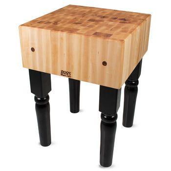 John Boos Ab Block Butcher Block Table Butcher Block Knife Block Set John boos butcher block table