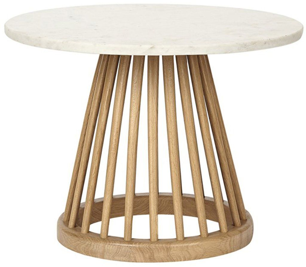 Tom Dixon Couchtisch Tom Dixon Fan Table Marble Top Small Portland Traditional