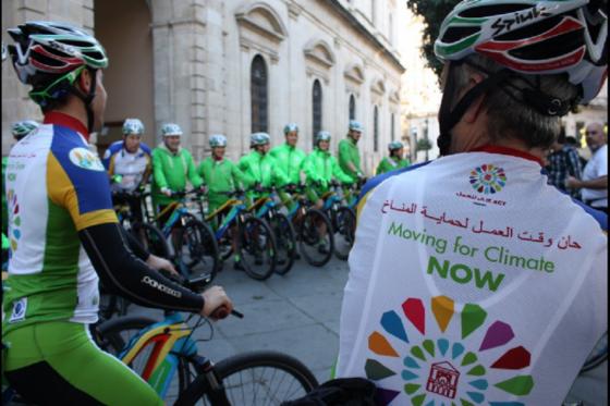 Más de 1.000 km en bicicleta para apoyar la lucha contra cambio climático Los participantes saldrán desde Sevilla (España) hasta Marrekech (Marruecos), donde se celebra la COP22.