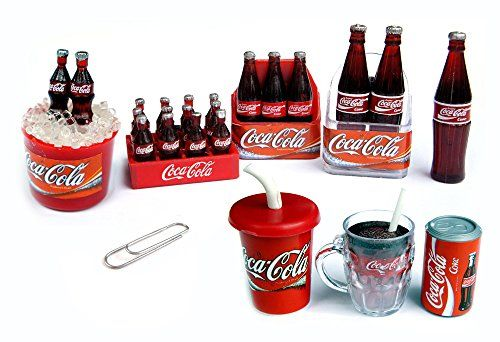Kleiner Kühlschrank Cola : Pcs set coca cola coke fridge magnet collectables dol