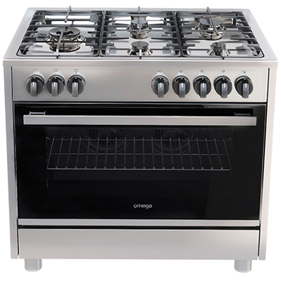 Omega freestanders OF914FX - 90CM GAS COOKTOP ELECTRIC OVEN ...