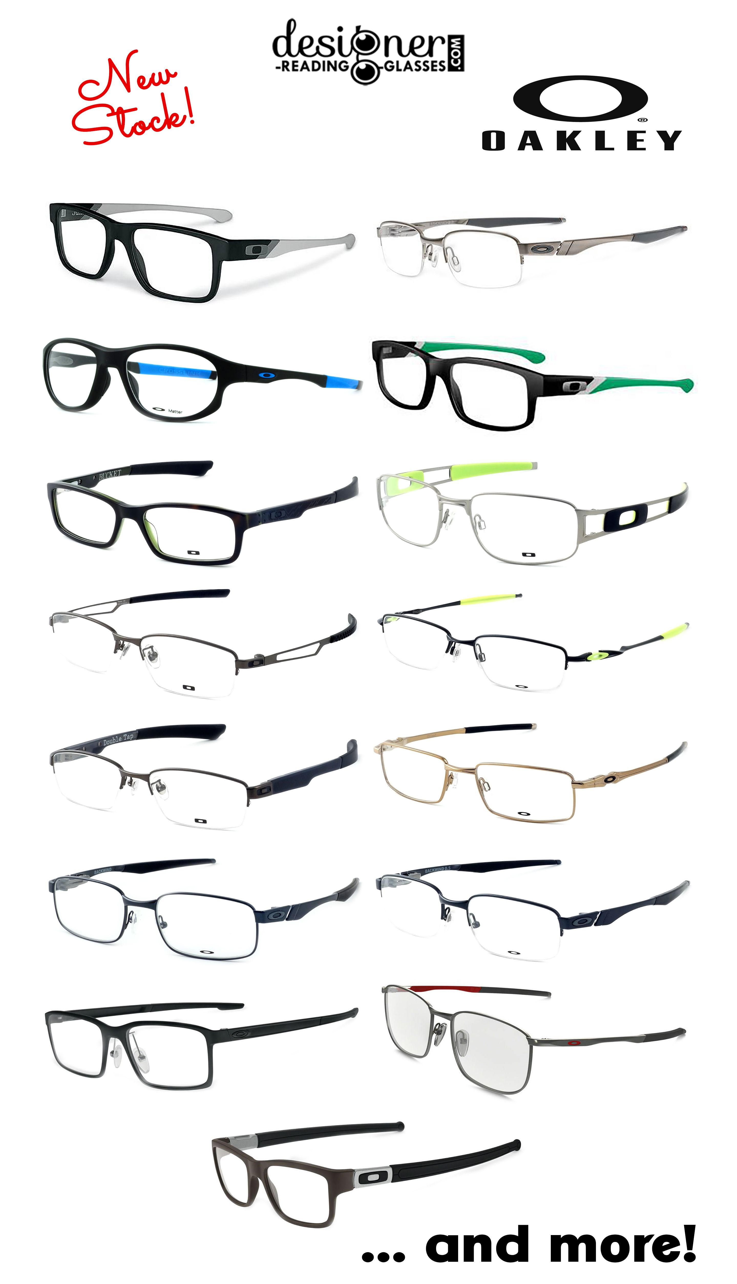 842ce3e4c7 Check out this great new stock of Oakley eyewear!