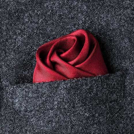 How to fold a pocket square for your wedding day | Equally Wed