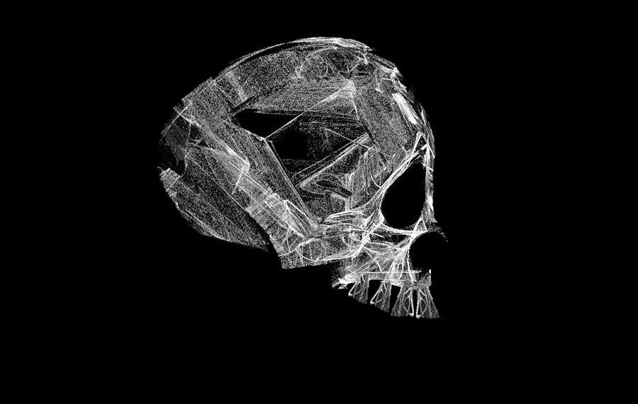 Fractal Stock- Skull by rockgem.deviantart.com on @DeviantArt