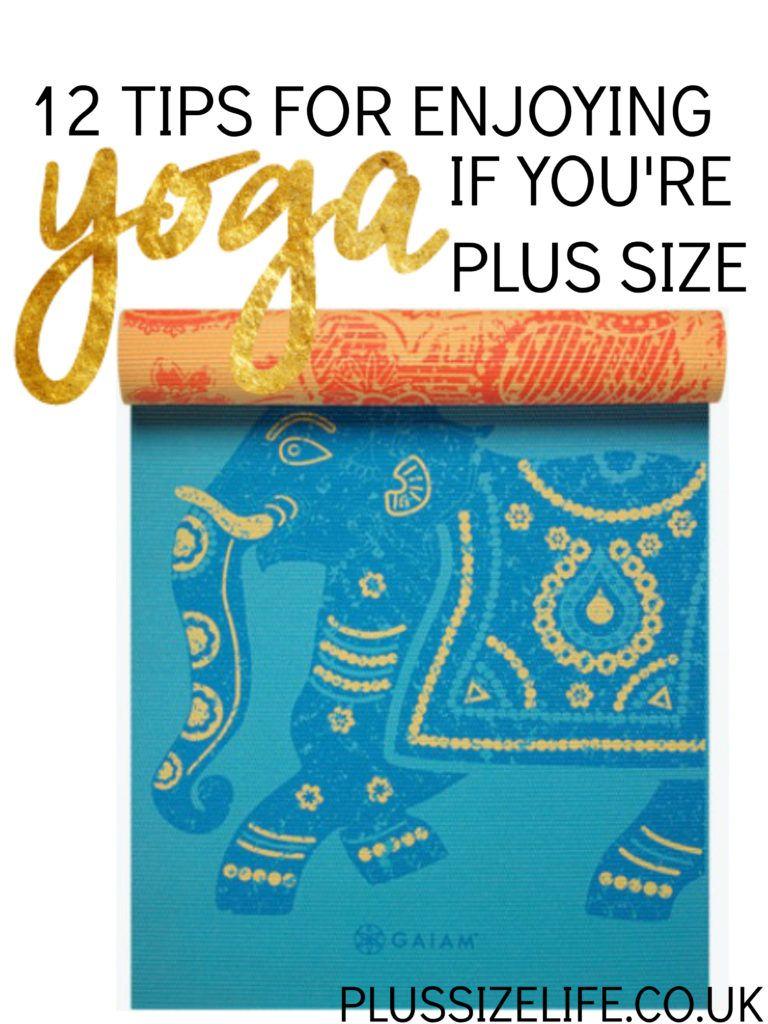 12-tips-plus-size-yoga-remaster | Yoga | Pinterest | Plus size ...
