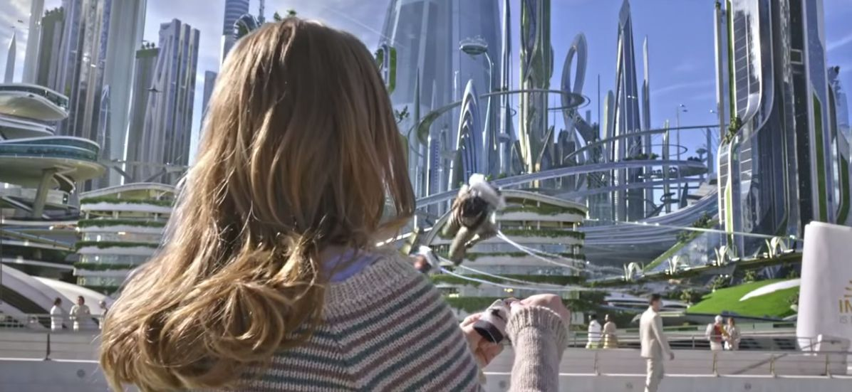 Soaring TOMORROWLAND Concept Art Lands Online « Film