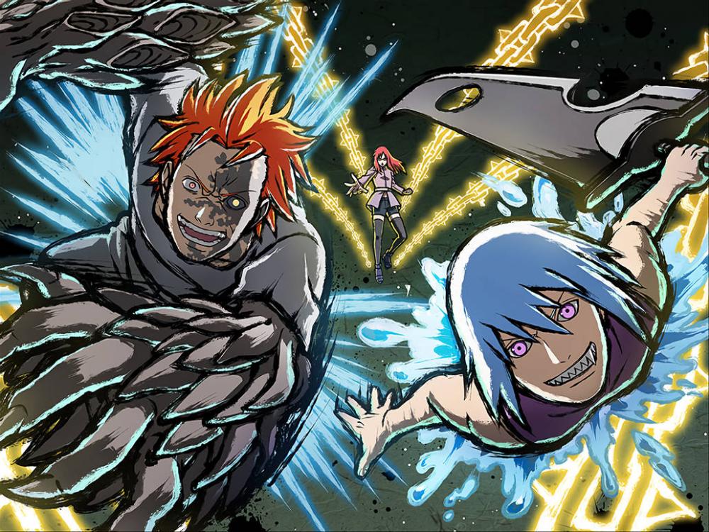 Suigetsu Jugo Karin Wallpaper Nxb Ninja Tribes By Maxiuchiha22 On Deviantart In 2021 Naruto Art Naruto Drawings Awesome Anime