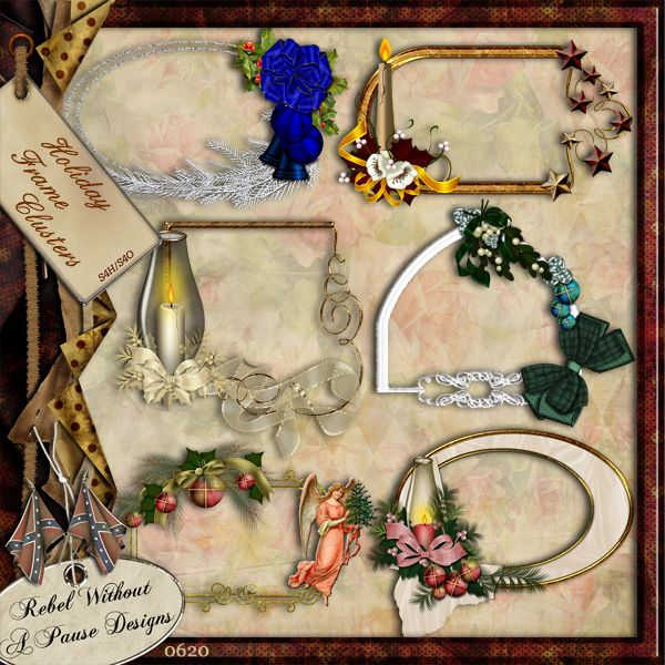 Holiday Frames Rwap 0620 259 Digital Scrapbooking Store