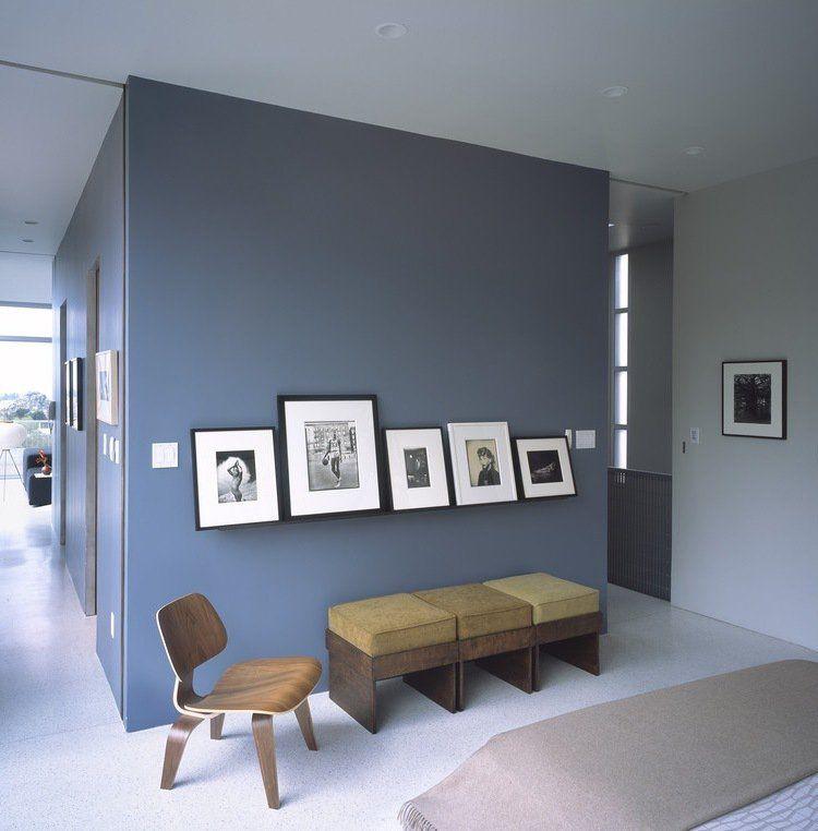 Peinture Bleu Gris A L Interieur Le Bleu Pigeon Et Le Bleu Ardoise Peinture Bleu Gris Peinture Bleu Couleurs De Peinture Pour Salon