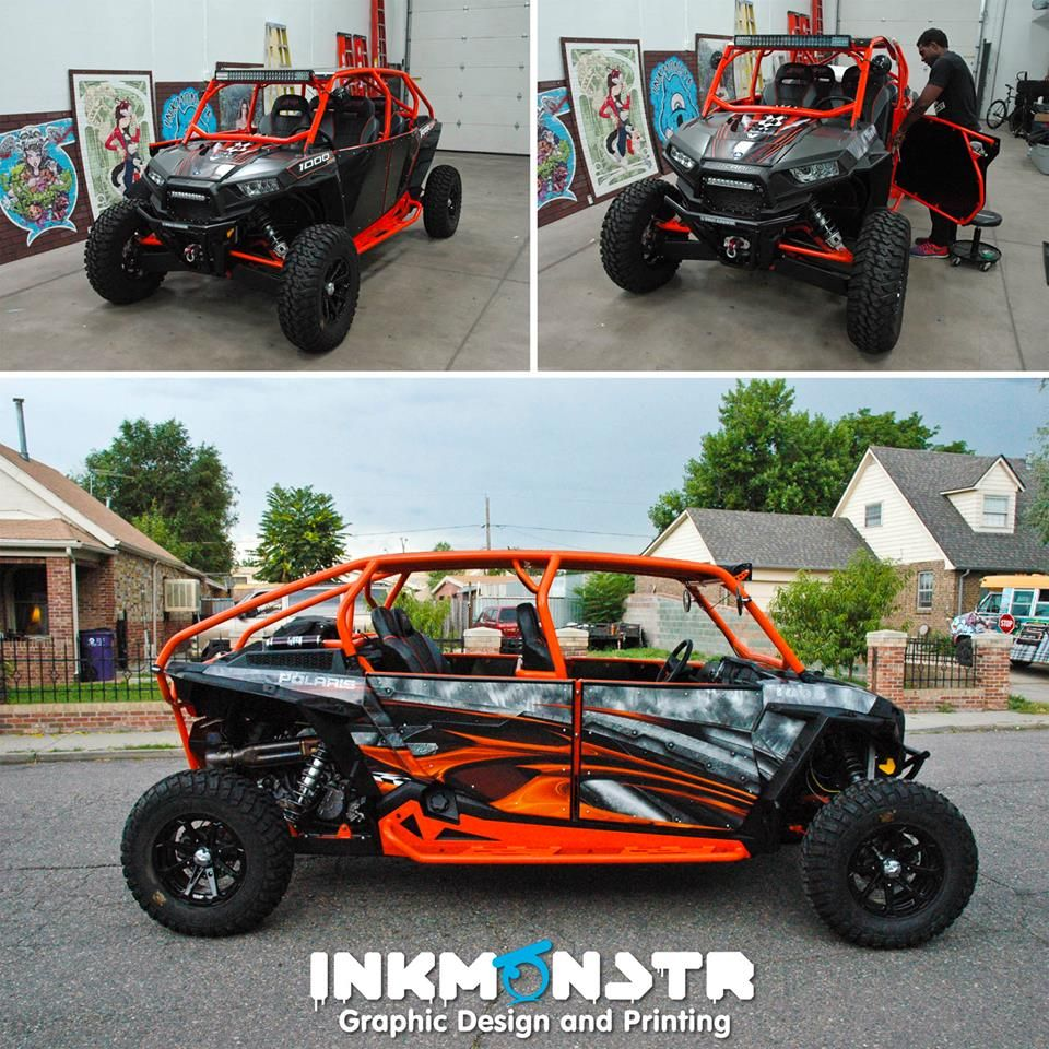 How Cool Is This Thing We Wrapped This Awesome Polaris