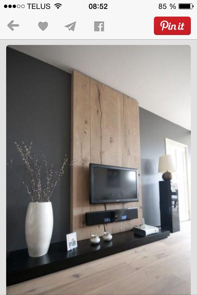 Mur de bois #chaleureux #bois degrange Inspiration Design - mur en bois interieur