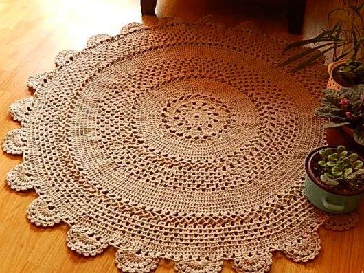 Easy Crochet Rug