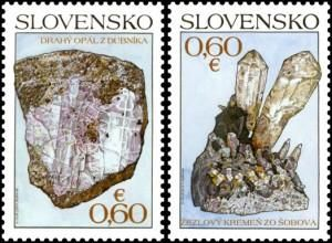 StampedeBeta - Stamp Profile - Nature Protection: Slovak Minerals depicted on new stamps | Stampnews.com