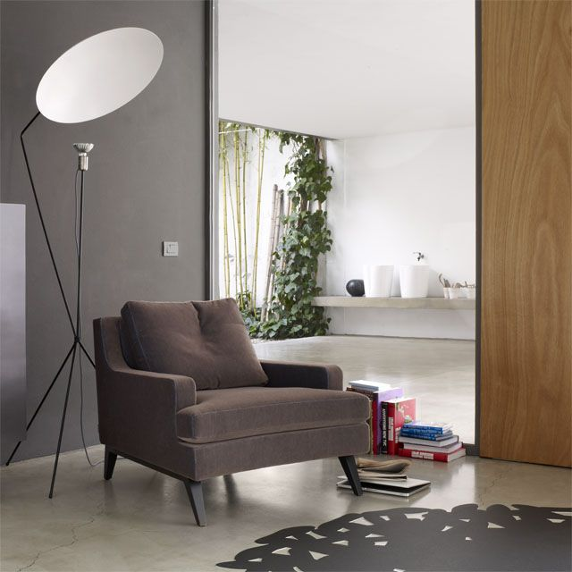 fauteuil belem didier gomez cinna mobilier. Black Bedroom Furniture Sets. Home Design Ideas