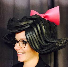 Betty Rubble Foamwig Made By Allemaal Tejater Foam Wigs Headband Hairstyles Foam Costume