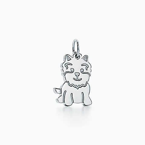 Tiffany Charms New Yorkie charm in 18k rose gold Tiffany & Co. 9GIqN