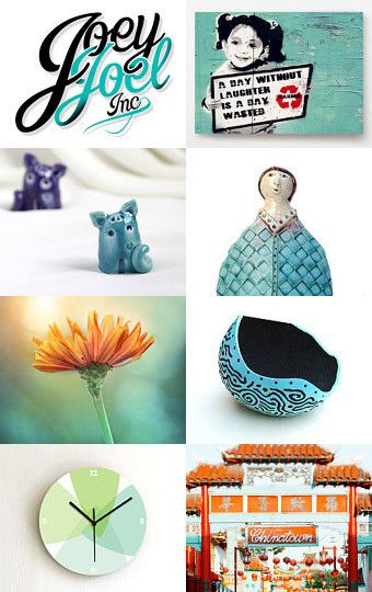 Turquoise by Elinor Levin on Etsy--Pinned with TreasuryPin.com