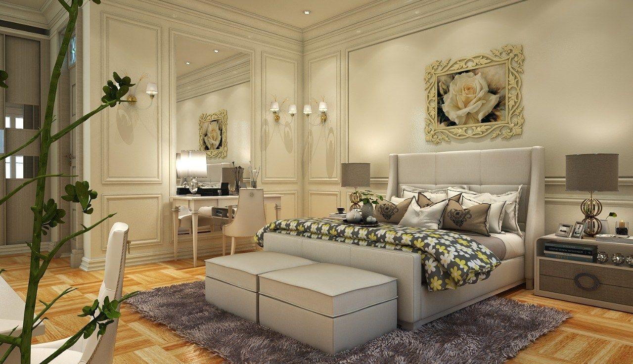 غرف نوم كلاسيك يبحث الكثير منا على الاناقة والفخامة فى ديكور غرفة النوم الخاصة به وهو ما يجعلها يلجأ الى الطراز الكلاسيكى فى تص Classic Bedroom Home Decor Home