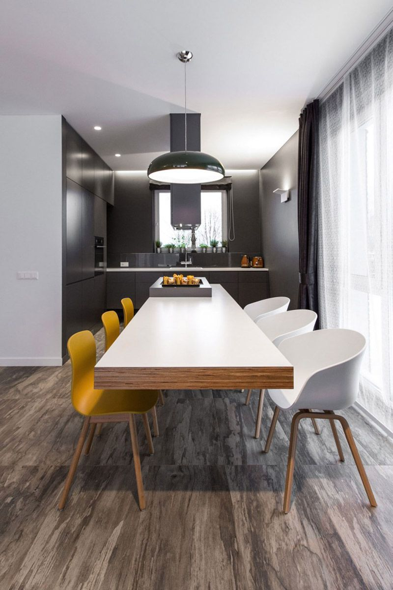 17 Minimalist Home Interior Design Ideas: Semi-detached House With Minimalist Interior Design In Vilnius, Lithuania