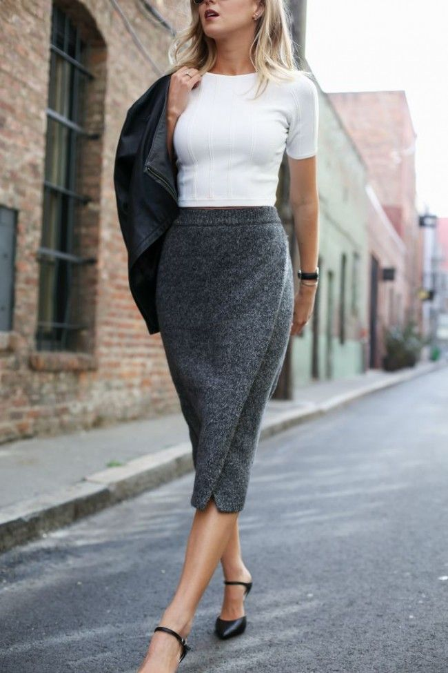 Memorandum Knit Pencil Skirt Fall Inspo In 2019