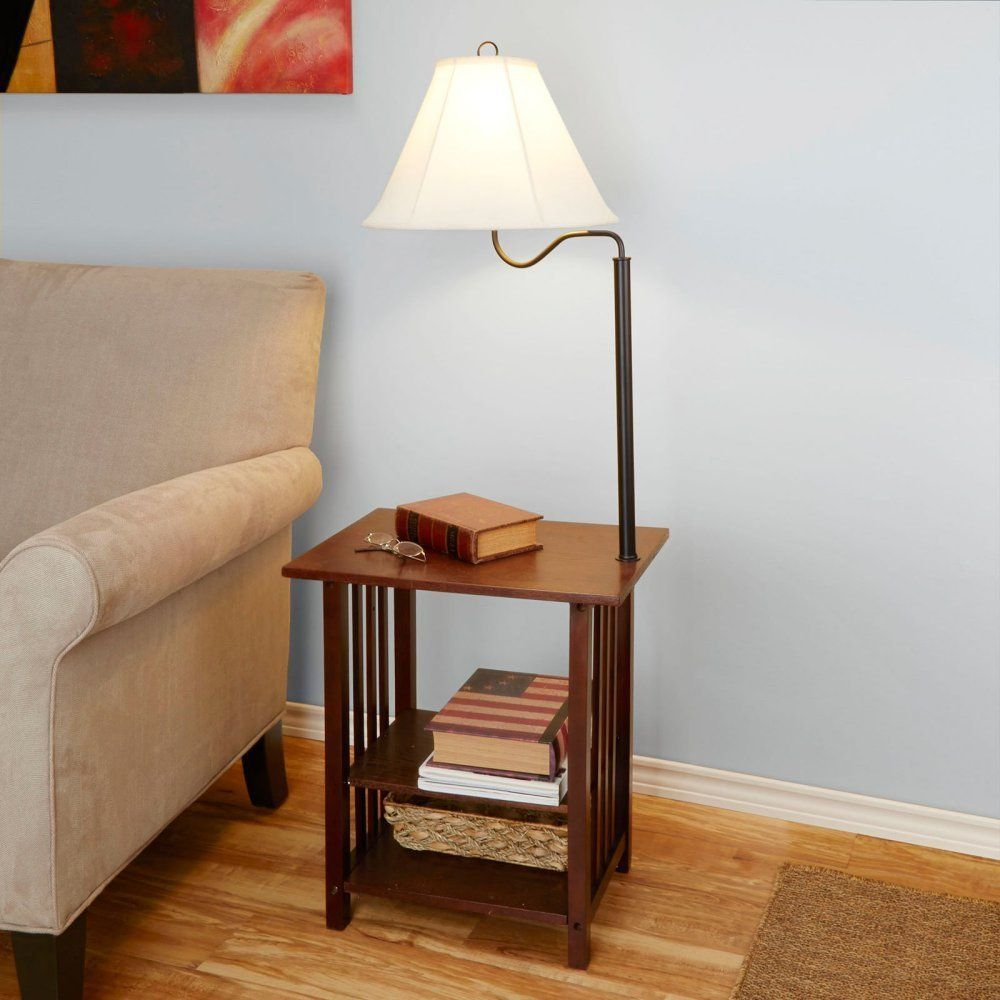 Better Homes and Gardens End Table Floor Lamp Living