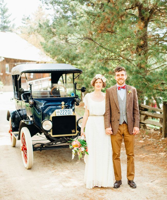 Rustic California Farm Wedding: Elle + Ryan