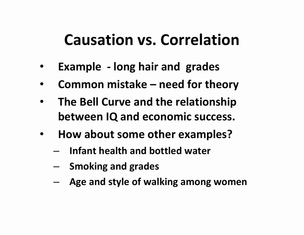 Correlation Vs Causation Worksheet