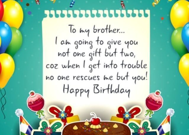 Birthday Wishes For Brother Birthday Cards Wishes Images Happy
