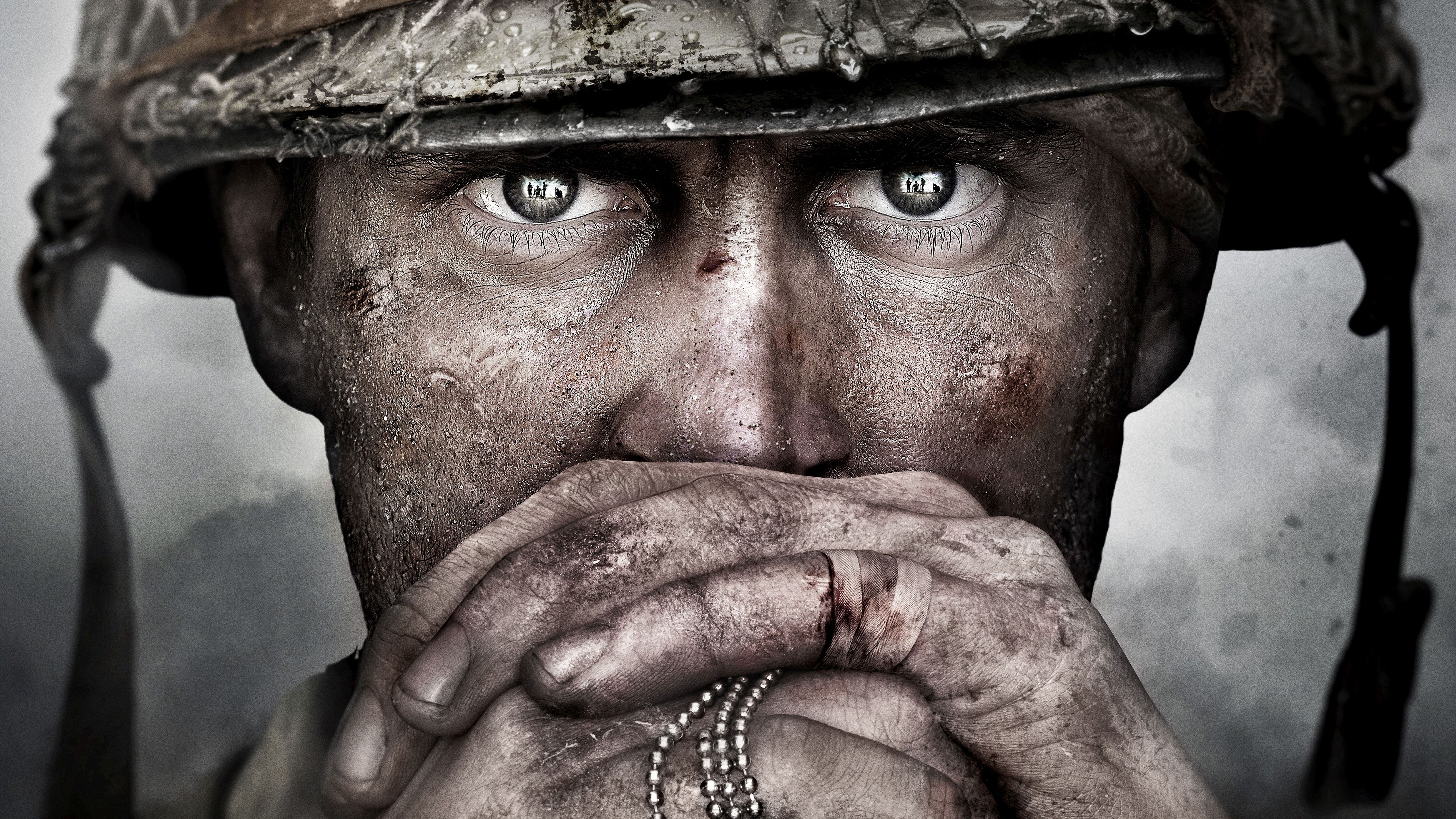 Nice Call Of Duty Wwii Game Soldier 5k Wallpaper Call Of