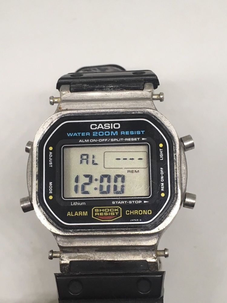 af2a78fb6 CASIO G-SHOCK DW-5600 module 901 VINTAGE WATCH RARE MODEL . Condition is  Pre-owned.Works great