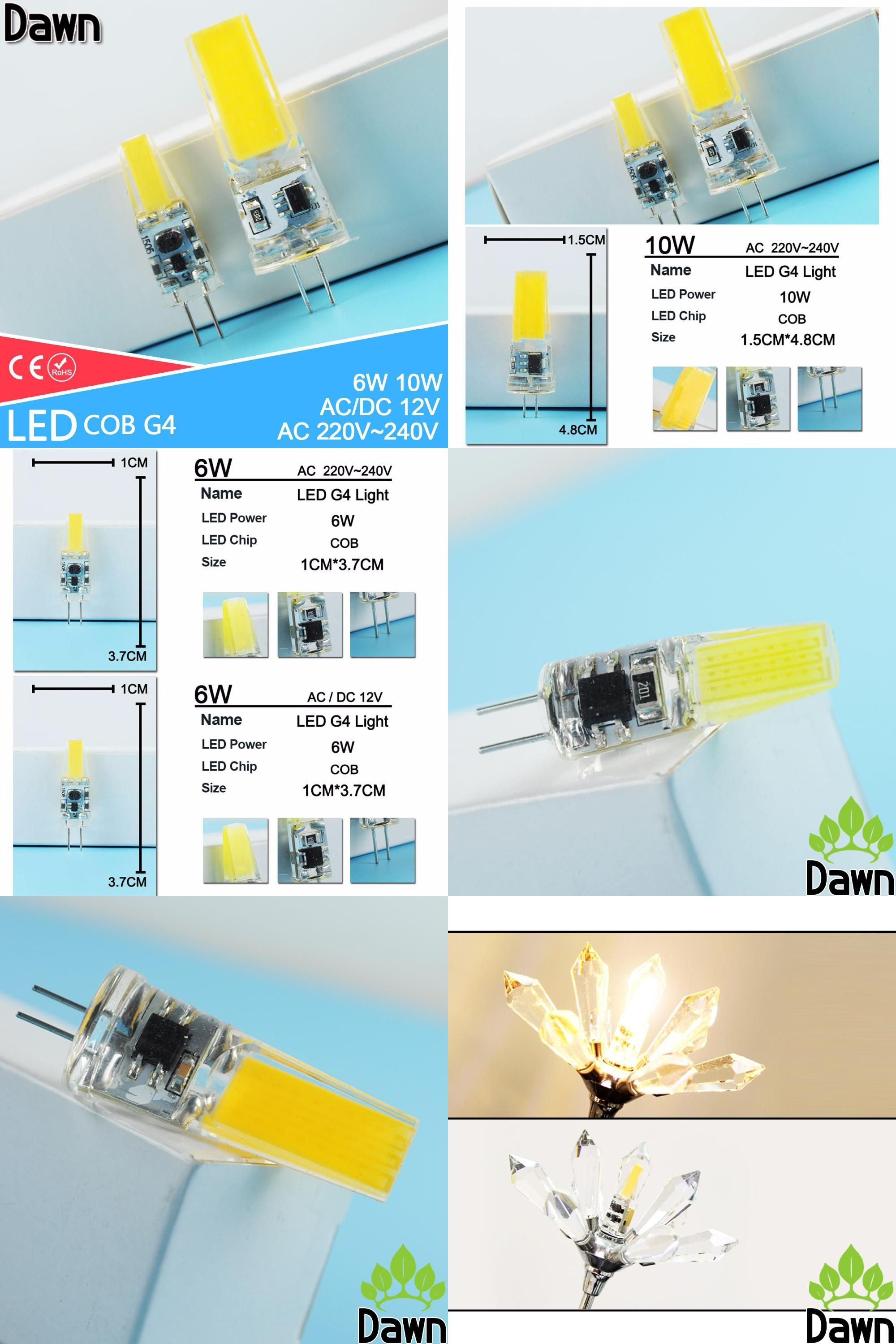 Visit To Buy G4 Cob Led Bulb Acdc 12v 6w Ac220v 6w 10w Led G4 Lamp Crystal Led Light Bulb Lampada Lampara Bombilla Ampoule Led Home Light Adver Led Light Bulb