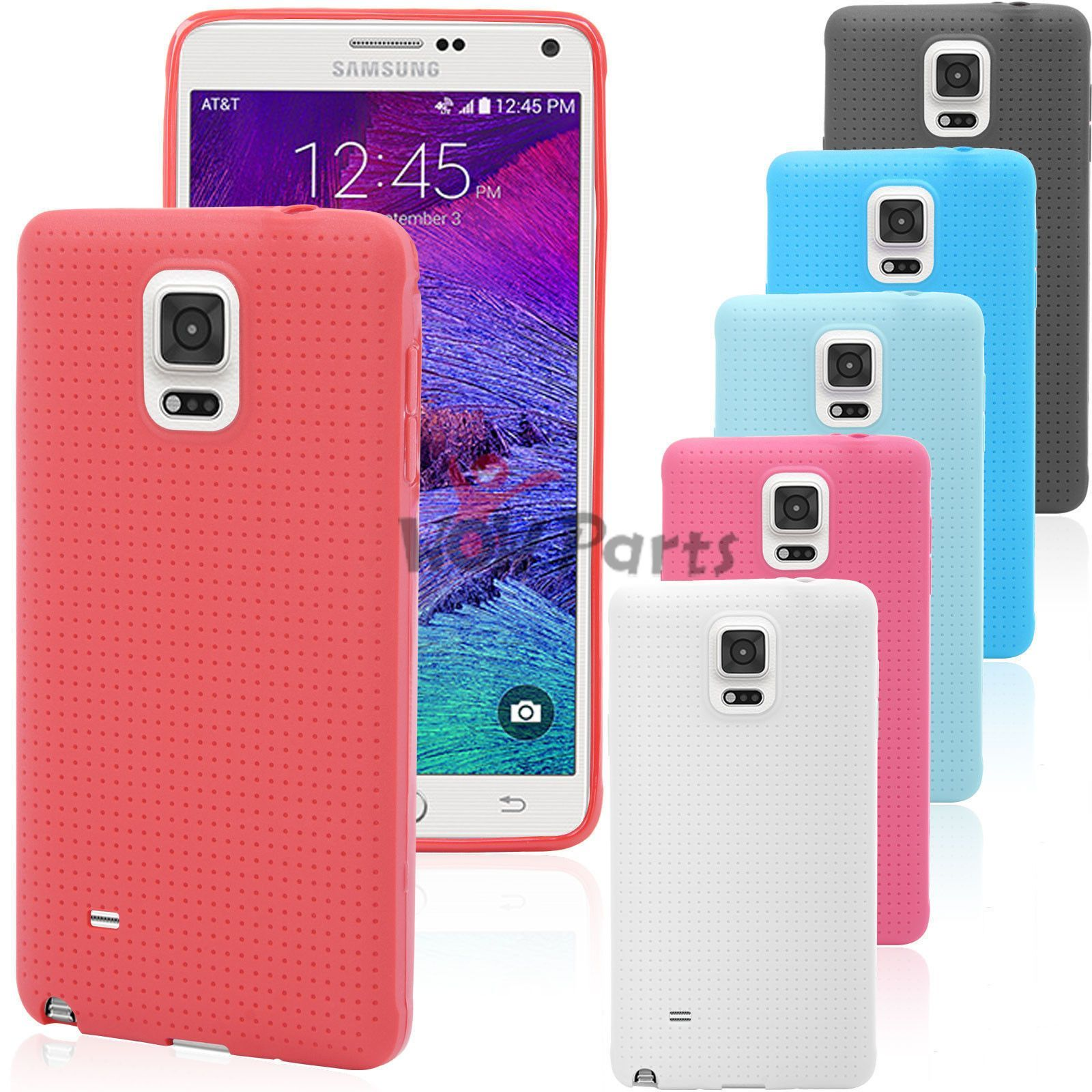 Samsung Galaxy Note 4 TPU Soft Silicone Gel Back Case Cover durable Skin Shell