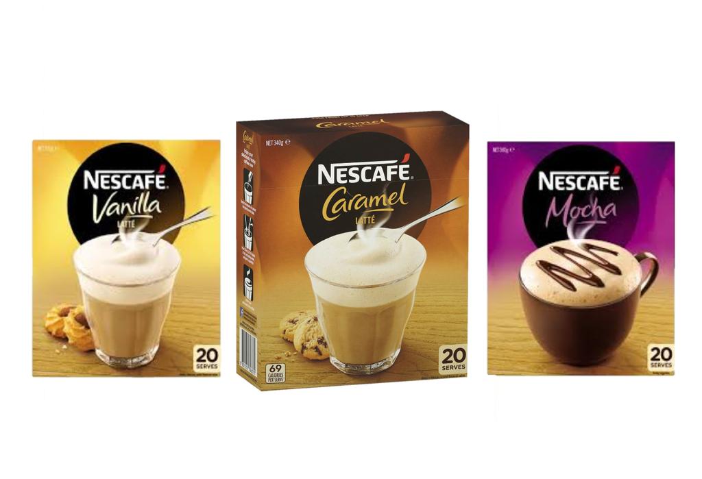 Hot Winter Deal Nescafe 60 Sachets, 3 Flavours
