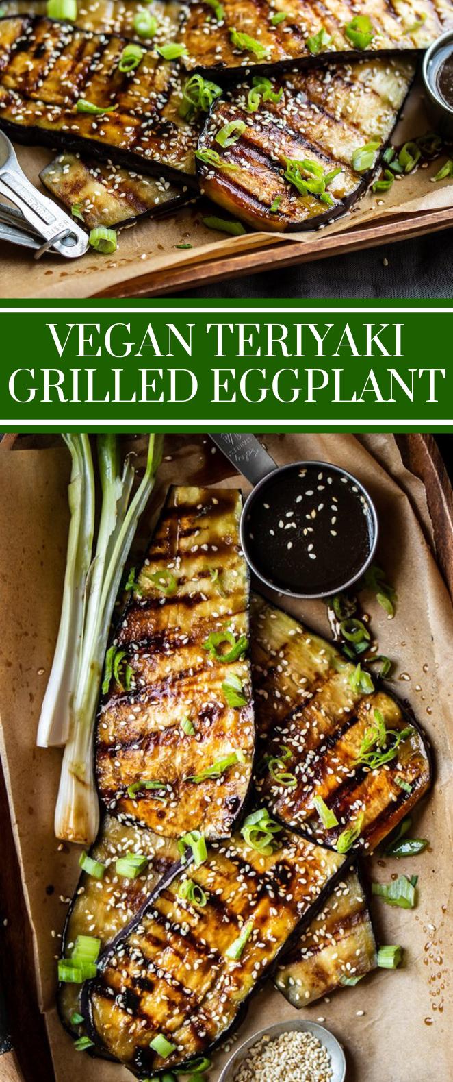 Vegan Teriyaki Grilled Eggplant #vegandinner #vegetarian #vegetariangrilling Veg - Nicole&DinnerRecipesCrockpot