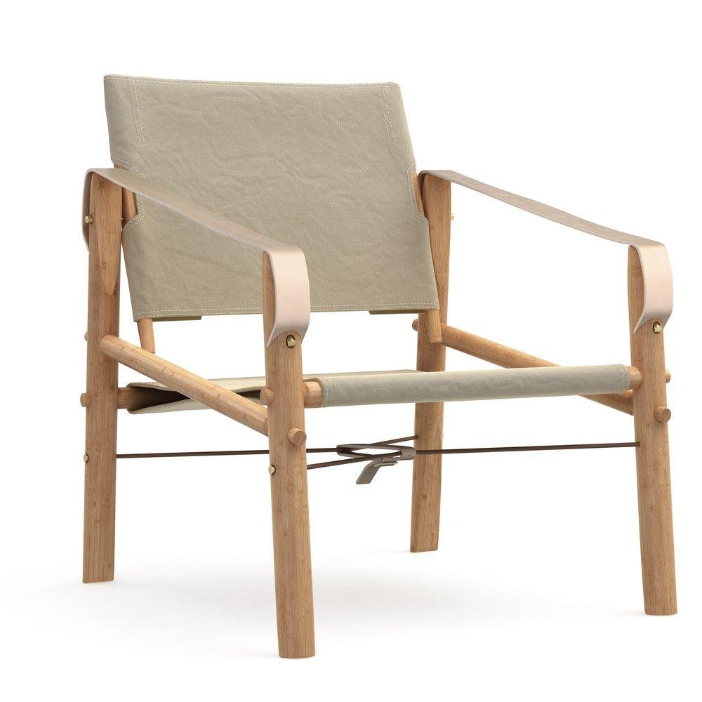 Scaun pliabil din bambus We Do Wood Nomad, bej   shop   Pinterest
