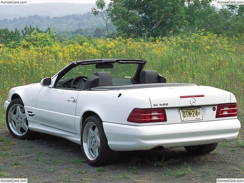 Mercedes Benz Sl500 2001 Mercedes Benz