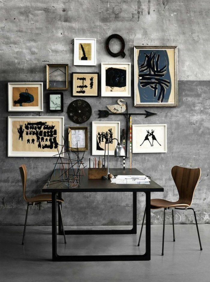 Fotowand Ideen Viel Aisa Minimalistisch Glatt