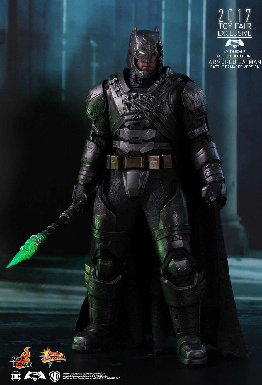 1//6 Green Kryptonite Spear LED Light For Superhero Hot Toys Phicen Figure ❶USA❶