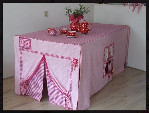 tabletop tent diy crafts pinterest play houses table tents
