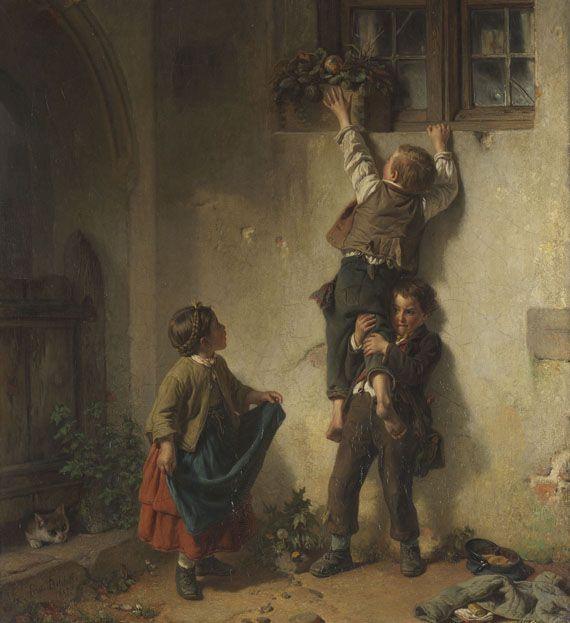 Friedrich Bischoff - Der verlorene Ball