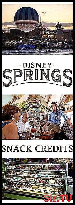 Disney Springs    Best Use of Snack Credits Best u
