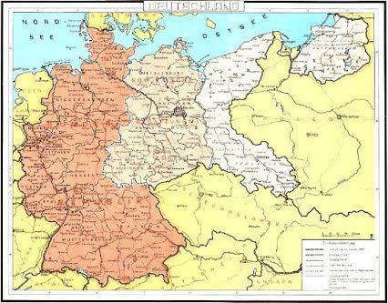 deutschlandkarte mit grenzen unnamed | Landkarte deutschland, Deutschlandkarte, Politische plakate