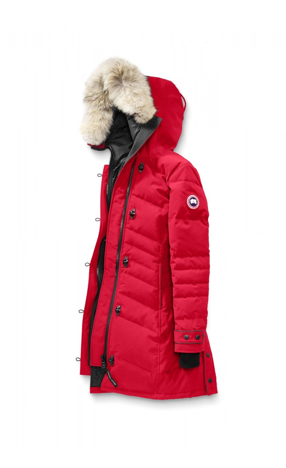 Canada Goose Lorette Parka Red Women - Canada Goose  canadagoose  women   streetstyle  parka  lifestyle  jacket  outlet 42fe57186704