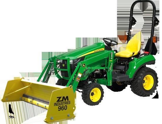 John Deere Quick Attach Snow Pushers Tractor Snow Blade Motor