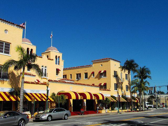 Atlantic Avenue Delray Beach Florida