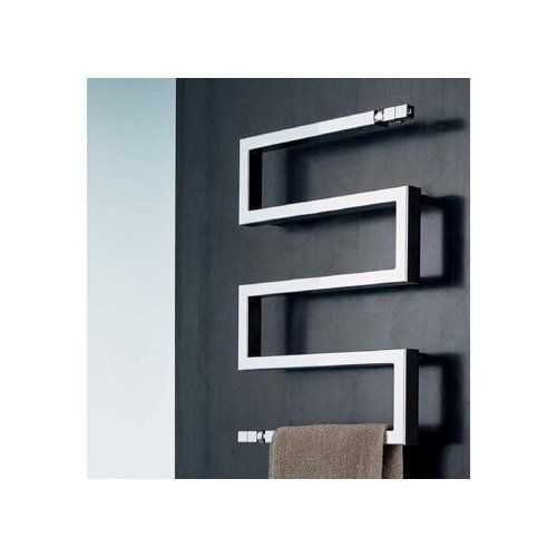 Buy Nameeks Snake Towel Warmer In Chrome Finish From Home Perfect By  Scirocco   Pricy But Modern And Beautiful Awesome Design
